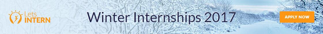 Letsintern Banner - Winter Internships 2017 | Winter Internship for college students | Internships in India