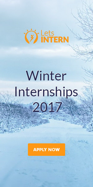 Letsintern Banner - Winter Internships 2017 | Winter Internship in India | Winter Internship for students | Internships in India