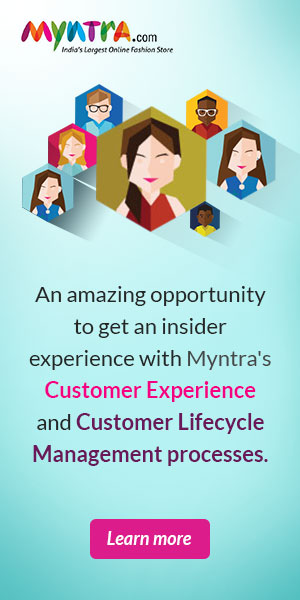 Online Internship | Internships in India | Letsintern | myntra_300x600.jpg | Fashion Internship India | Start Up Internship